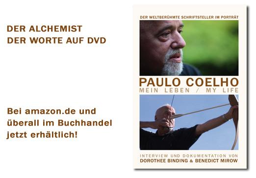 "DVD ""Paulo Coelho - Mein Leben"""